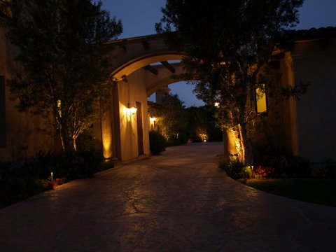 Exterior Lighting Agoura Modern Outdoor  Lighting